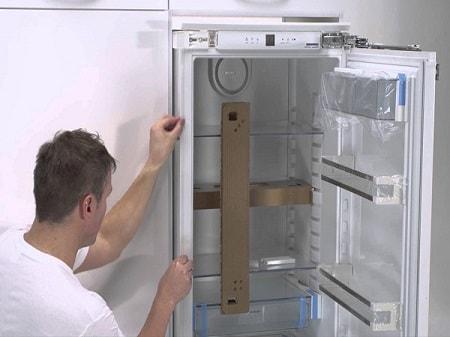 Ako správne inštalovať chladničku