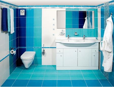 ventilateur d'extraction dans la salle de bain