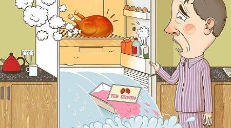 ماذا سيحدث للثلاجة إذا وضعتها ساخنة