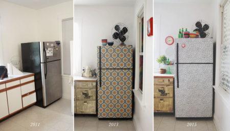 خيارات تصميم الثلاجة