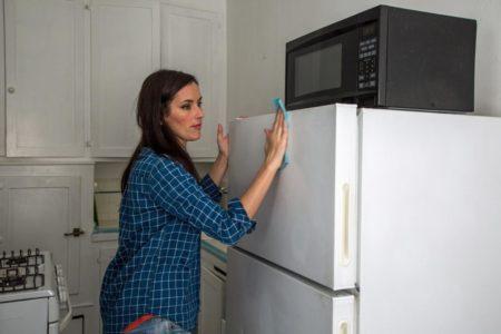 كيفية تحضير سطح الثلاجة