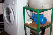 comment connecter une machine à laver sans eau courante