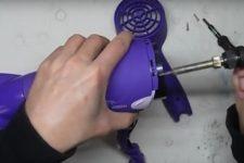 Reparación de secador de pelo de bricolaje: causas de mal funcionamiento
