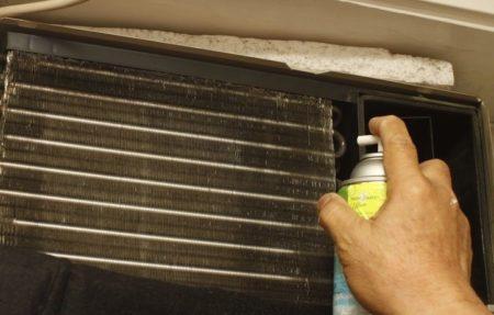 за почистване на климатичните средства