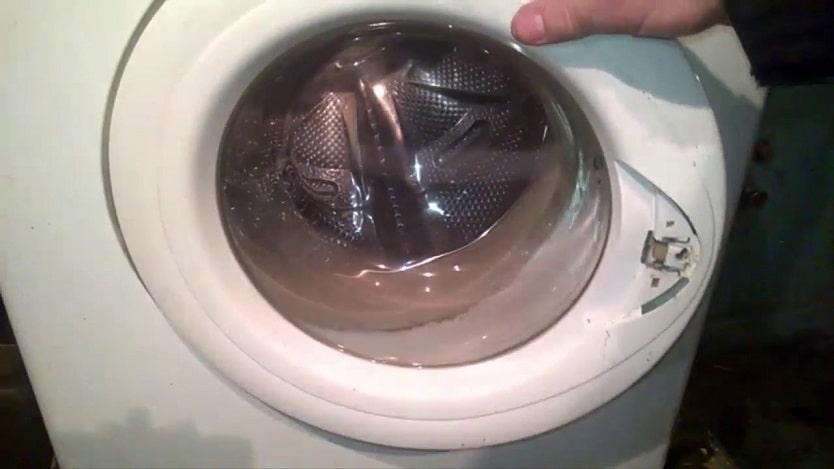 la manija de la puerta de la lavadora se rompió
