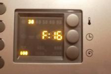 Bosch tvättmaskin - felkod F16