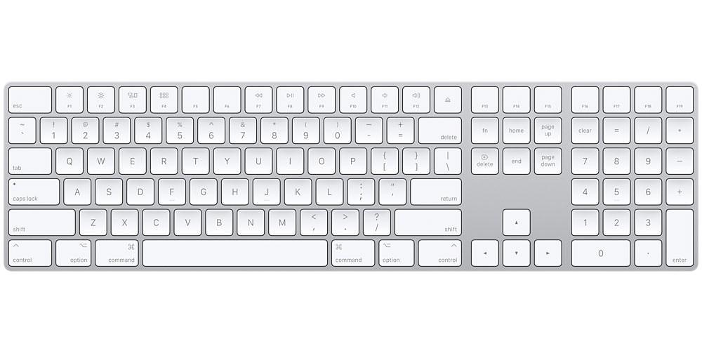 لوحة مفاتيح رقمية من Apple Magic Keyboard
