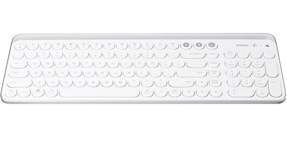 لوحة مفاتيح Xiaomi Miwu بيضاء بلوتوث